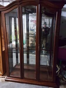 Glass display cabinet buffet vaisselier kitchen dining delivery