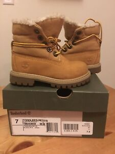 Timberland boots size 7 Toddler
