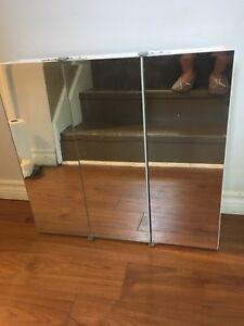 Medicine cabinet mirror