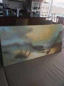 Landscape Art painting on canvas