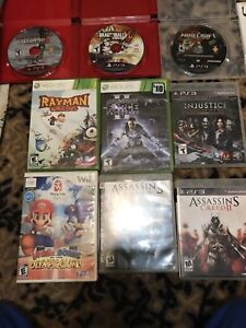 PS3,Xbox 360 games