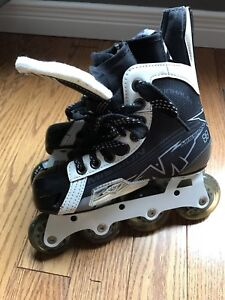 Youth size 1 inline roller blades