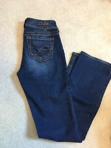 Silver jeans, silver jeans capris and Maurice jeggings