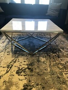 Willowick marble Coffee table - $250