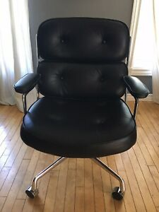 Mid century modern Eames Herman Miller Executive Time Life Chair