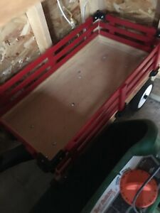 Child Red Wagon and Winter Sled - all in 1