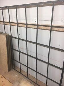 Fixed security window grill