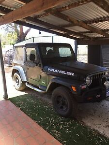 Jeep Wrangler Convertible West Perth Perth City Area Preview