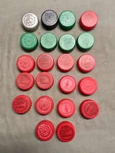 Coca Cola bottle  caps - iCoke (plastic)