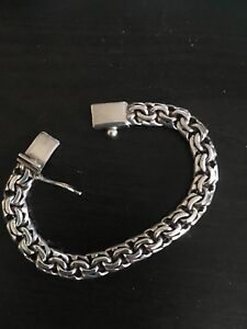 Silver chain bracelet ( stamped 925 )