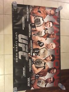 Official UFC Champions Banner