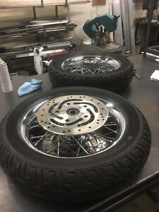 Harley Rims and Tires