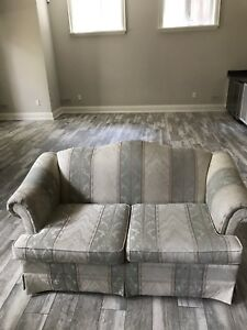 Couch, love seat sofa