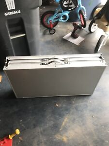 Outbound Aluminum folding table