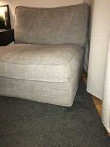 Grey Kivik single couch