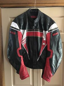 Polo Leather motorcycle jacket