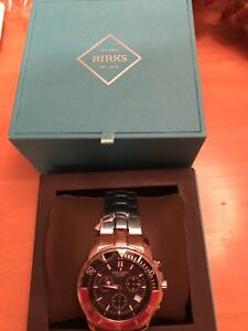 Henry Birks men's watch - new never used