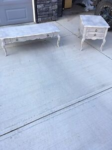Shabby Chic Coffee Table Set