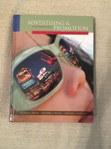 Advertising & Promotion Textbook (4th Can Ed)