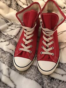Converse rouge/red taille 7