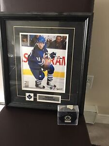 Phil Kesel Framed Collectable Picture and Puck
