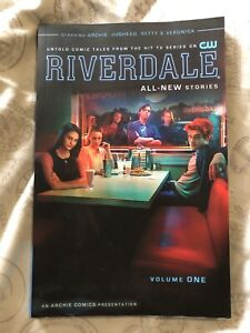 Riverdale Comic Book with Tv Show Cover
