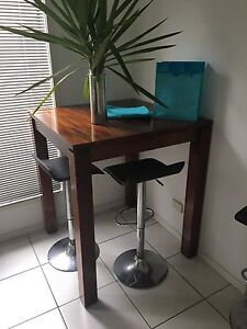 90x90x125 Timber High Bar Table Murrumba Downs Pine Rivers Area Preview