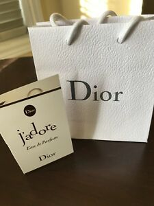 Christian Dior J'adore Dior Perfume Fragrance Sample (New)