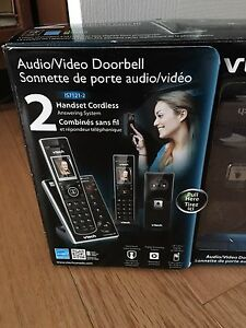 Visual door Bell, 2handset cordless phone