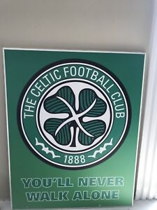 CELTIC FC WALL PORTRAIT
