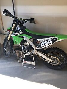 Kawasaki dirt bike KX250F