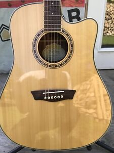 Washburn WD10SCE acoustic electric