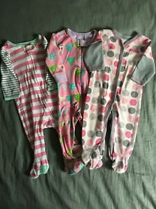Girls Sleepers 3-6 months