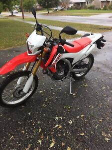 2016 Honda crf 250 Enduro on / off road