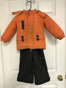 Toddler snowsuit