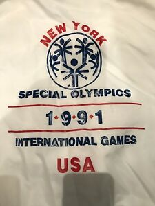 1991 Special Olympics Games In New York USA Jacket