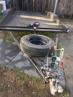 Car trailer hire $50/4hrs with Electric Winch