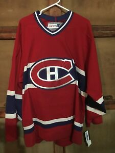 New Adult XL Montreal Canadians Jersey