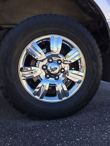 Ford F-150 oem rims with sensors