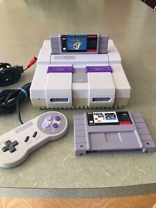 SNES with games included