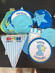 1st birthday decorations Cronulla Sutherland Area Preview