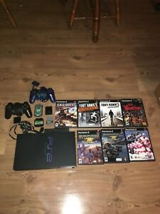 PS2 with games bundle