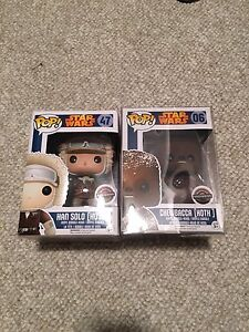 Star Wars GameStop Funko Pop Vinyls