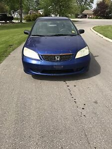 2005 Honda Civic as is runs and drives great