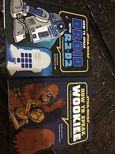 How to speak Wookiee and droid McLaren Flat Morphett Vale Area Preview