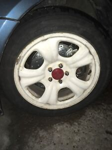 205-55-16  Wheels with Winter Tires
