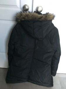 Warm, down filled winter coat