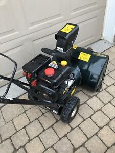 """Yardworks 5.5 horsepower/24"""" self propelled with electric start"""