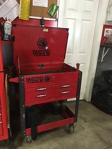 Matco tool roll cart. Like new . Year old.
