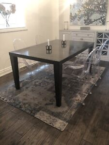 Modern Dining Table | Solid Wood
